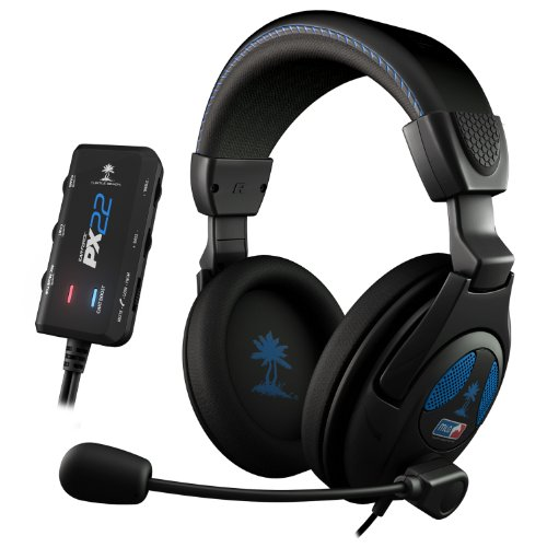 Turtle Beach Ear Force PX22 Amplified Universal Gaming Headset - Playstation 3