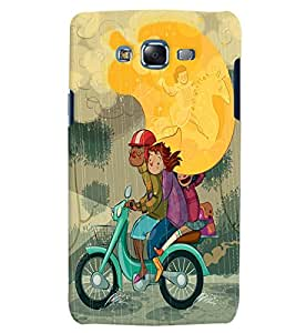 Citydreamz Back Cover For Samsung Galaxy E5|