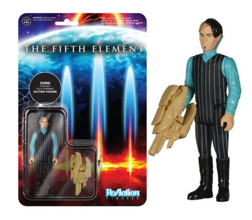 Funko ReAction Fifth Element Zorg Action Figure
