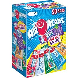 Air Heads Asorted Flavors - 90 ct. Variety Pack