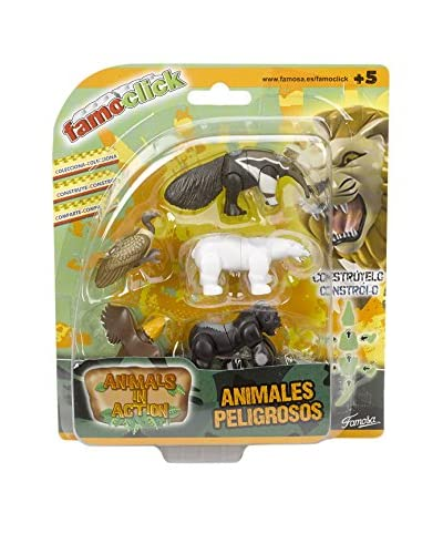 Famosa Animals In Action Pack 5 Figuras