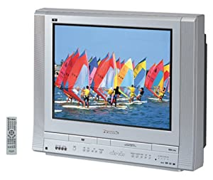 panasonic pv df2704 27 inch flat screen tv dvd vcr combo on popscreen. Black Bedroom Furniture Sets. Home Design Ideas