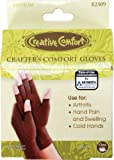 Dritz Crafters Comfort Glove-Medium