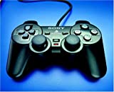 Video Games - Playstation 2 - Controller Dual Shock schwarz