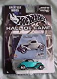 Hot Wheels Hall of Fame Greatest Rides 1934 Ford Three-Window Coupe TEAL