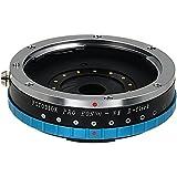 Fotodiox Pro Lens Mount Adapter with Built-in De-Clicked Iris, Canon EOS EF Lens (NOT EF-S Lens) to Samsung NX Camera Adapter, Fits Samsung NX1, NX3000, NX30, Galaxy NX, NX2000, NX 1100, NX300, NX300M Mirrorless Digital Cameras