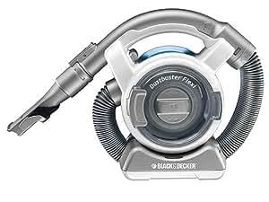 Black & Decker Dustbuster Flexi / PD1200-QW Aspirateur à main 12 V / 25 W Blanc/bleu clair