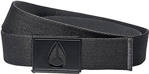 Nixon Spy Belt Black/Anthracite Mens Sz M/L