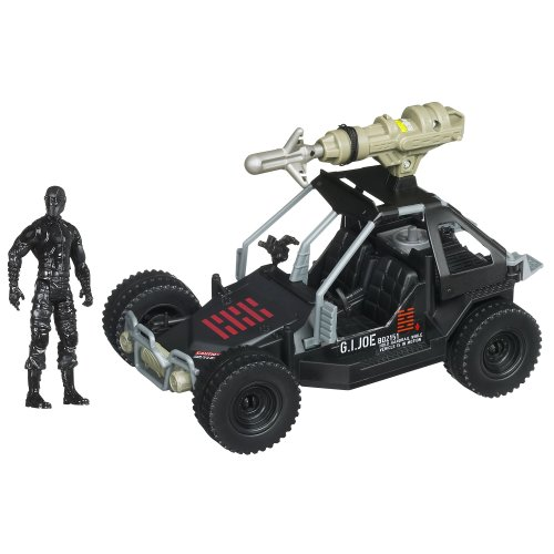 G.I. Joe Retaliation Ninja Commando 4x4 With Grapple Hook Launcher and Snake Eyes Figure