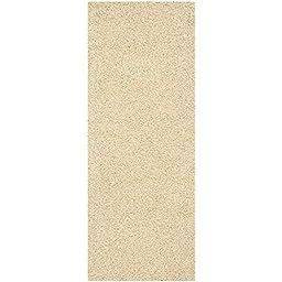 Safavieh Monterey Shag Collection SG851C Handmade Cream Polyester Runner, 2 feet 3 inches by 6 feet (2\'3\