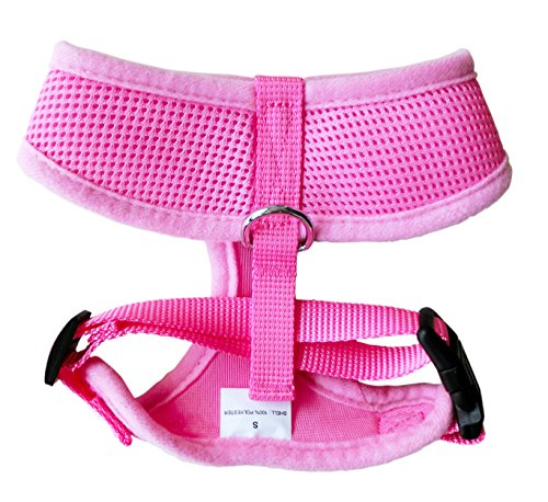 FUNPET-Soft-Mesh-Dog-Harness-No-Pull-Comfort-Padded-Vest-for-Small-Pet-Cat-and-Puppy