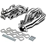 For Ford F-Series 4.6L V8 Polished Shorty Stainless Steel Tubular Exhaust Header