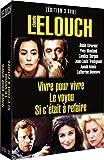 Claude Lelouch, vol. 1 : Vivre pour vivre / Le voyou / Si c'était à refaire - coffret 3 DVD 北野義則ヨーロッパ映画ソムリエのベスト1971年