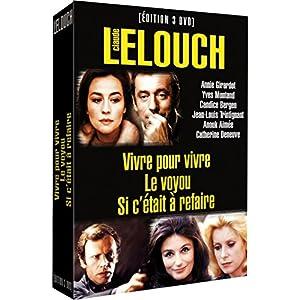 Claude Lelouch, vol. 1 : Vivre pour vivre / Le voyou / Si c'était à refaire - coffret 3 DVD