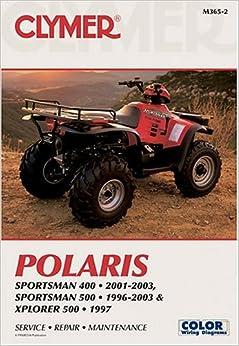 polaris sportsman 400 2001 2003 sportsman 500 1996. Black Bedroom Furniture Sets. Home Design Ideas