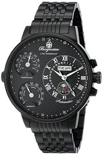 Burgmeister Men's Automatic Wristwatch Montana BM309-622 XXXL (54mm)