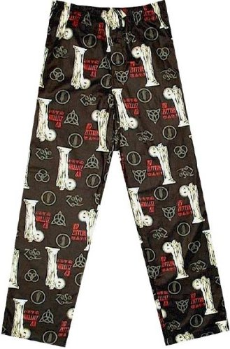 Buy Led Zeppelin ZOSO Lantern Images All-Over Flannel Lounge Pants for men