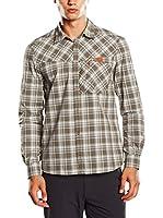 Salewa Camisa Hombre Valparola Dry M L/S Srt (Barro)