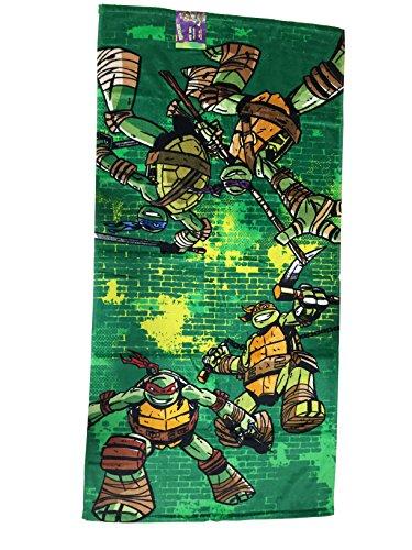 teenage mutant ninja turtle 6pc bathroom accessory set sea turtles shower curtain personalized potty training