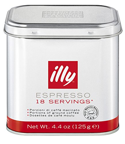 Illy Espresso Coffee Pods Medium Roast (Lavazza Nespresso Pods compare prices)