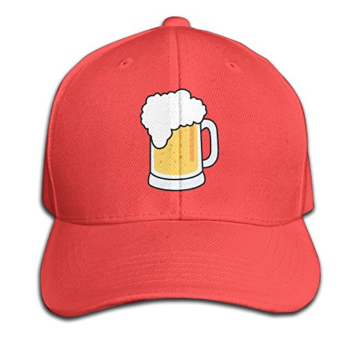 xssyz-unisex-i-love-beer-adjustable-baseball-caps-red