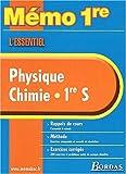 echange, troc Collectif - MEMO ESSENTIEL PHYSIQUE/CHIMIE 1ERE    (Ancienne Edition)