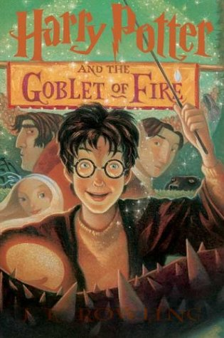 Cover of Harry Potter and the Goblet of Fire (rlb)