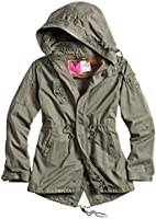M65 Ladies Parka Damen Army Feld Jacke