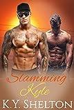 Slamming Kyle: MMM Gay Hard Military Menage - Ganged by the Military Men (Kyle's Military Alpha Bonding Menage Book 3)