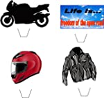 Nouveaut� moto / motard m�lange 12 co...