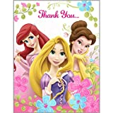 Disney Fanciful Princess Thank You Notes Party Accessory