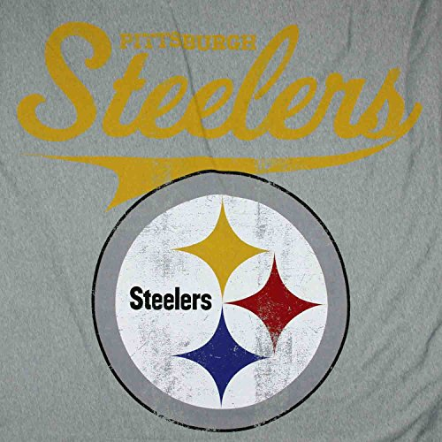 Pittsburgh Steelers NFL 52x84 Sweatshirt Throw Blanket, Grey at Steeler Mania