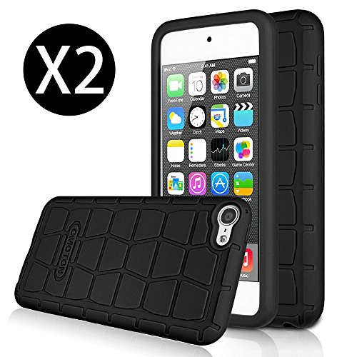 [2 Pack] Apple New iPod touch (6th Gen) Case- OMOTON...