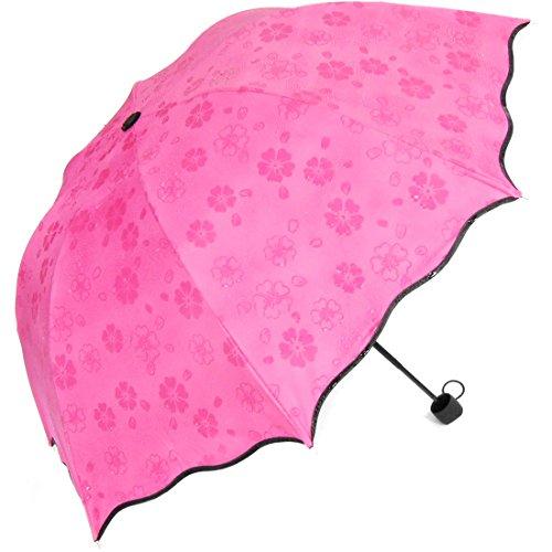 Kilofly-Secret Blossom acqua Magic ombrello, rosso
