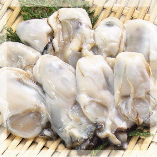 広島県産牡蠣Lサイズ1kg×3袋(冷凍むき身)