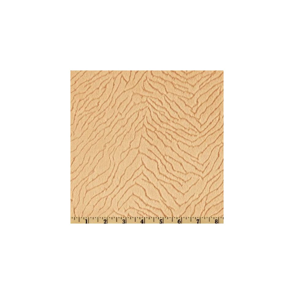 60 Wide Minky Silky Cuddle Camel Fabric By The Yard