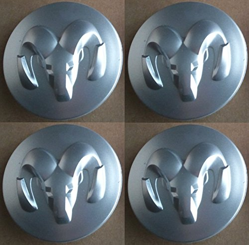Wheel Center Caps Cap Dodge Oem Retrofit Kit of 4 Mopar MATTE FINISH (Dodge Ram Wheel Center Cap compare prices)