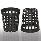 100 1.75 Inch Net Slit Pots for Hydroponic Aeroponic Use