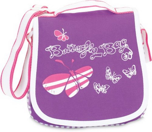 bolso para niñas con mariposas