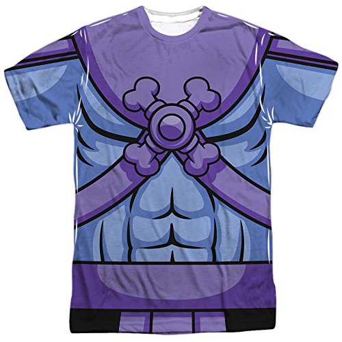 Masters Of The Universe Skeletor Costume Shirt with front and back print - S to XXXL