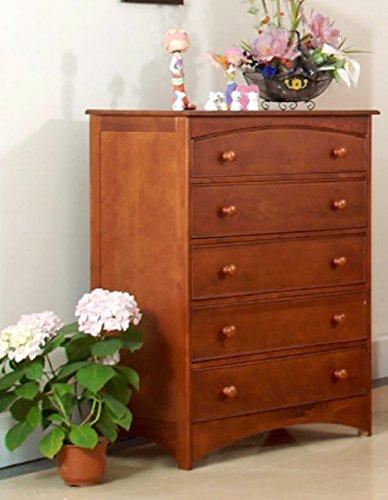Eden Baby Furniture Seattle 5-Drawer Chest Dark Cherry