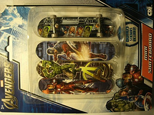 Avengers Marvel Mini Skateboard (Pack of 1)