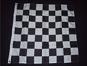 "End of Race 36"" x 36"" Flag"