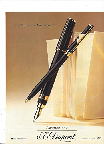 print-ad-for-1992-st-dupont-montparnasse-collection-fountain-pens