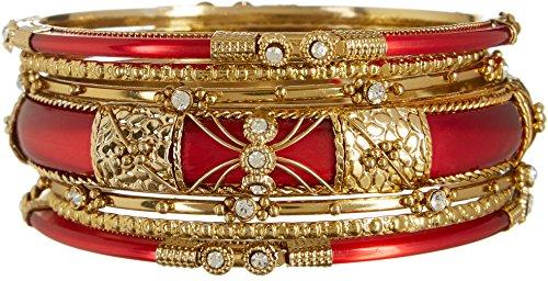 izaro-7-row-red-gold-tone-bangle-bracelet-set-one-size-red-gold-tone