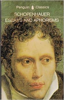 essays and aphorisms schopenhauer