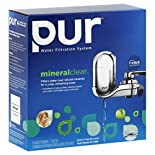 PUR Mineral Clear Water Filtration System, Water Filtration System, 1 system