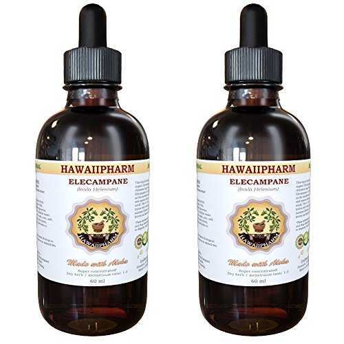 Elecampane Liquid Extract, Organic Elecampane (Inula Helenium) Tincture 2x2 oz (Artichoke Extract Alcohol Free compare prices)