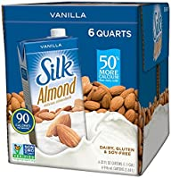 Silk Pure Almond Vanilla, 32-Ounce (P…