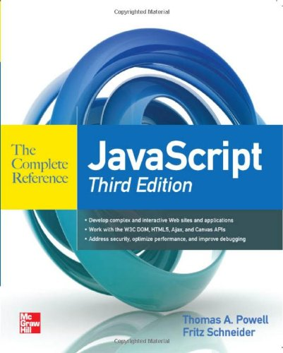 JavaScript The Complete Reference 3rd Edition 0071741208 pdf